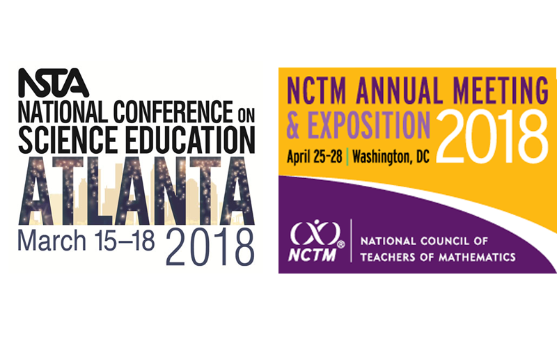 MƒA at NSTA and NCTM | Math for America